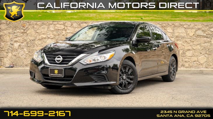 2017 Nissan Altima 2.5 S (Back-up Camera + Power Driver Seat Package)