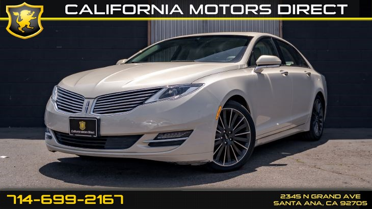 2016 Lincoln MKZ Reserve (Navigation & Sunroof)