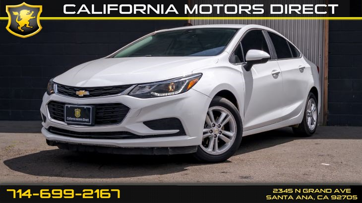 2017 Chevrolet Cruze LT(w/Back Up Camera)