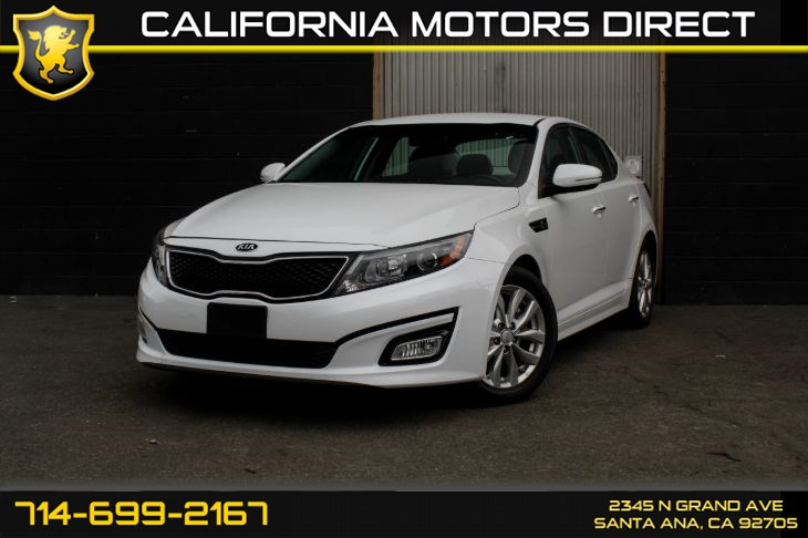 2015 Kia Optima EX (SiriusXm + Bluetooth)