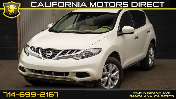 2011 Nissan Murano S (Back-up Camera)