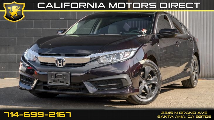 2016 Honda Civic LX (Sedan)