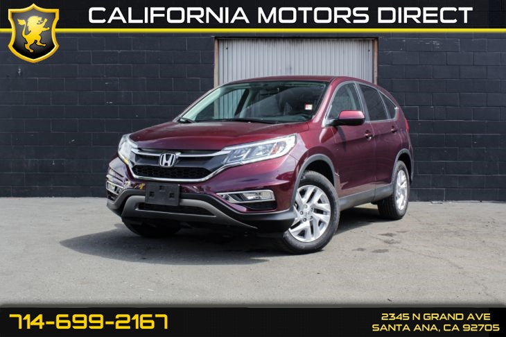 2016 Honda CR-V EX (Sunroof & Bluetooth)