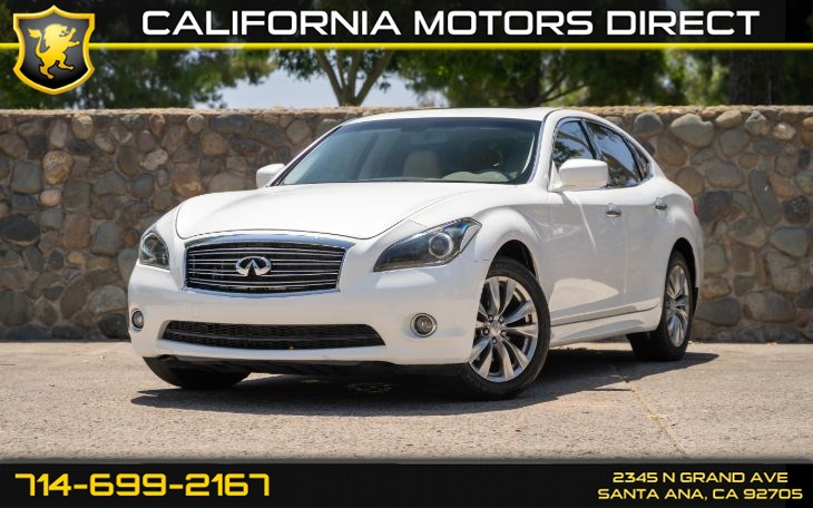 2013 INFINITI M37 (Leather Seats/ Salvage Title)