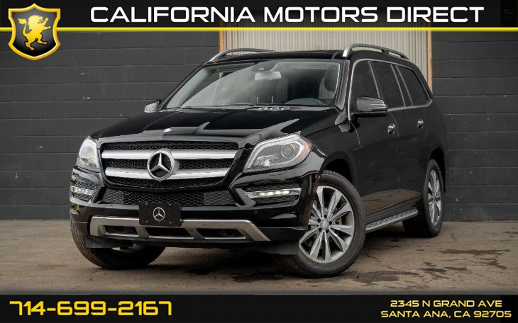 2015 Mercedes-Benz GL 450 GL 450 4MATIC