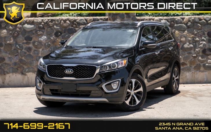 2016 Kia Sorento EX (Backup Camera + Leather Seats)