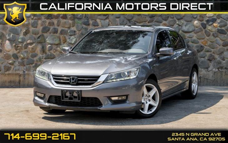 2015 Honda Accord Ex L V6 >> 2015 Honda Accord Sedan Ex L V6 W Navi California Motors Direct1