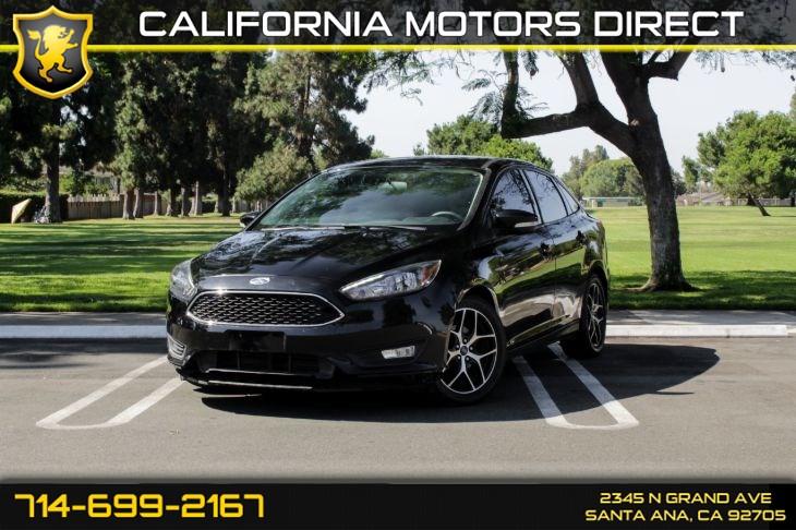2017 Ford Focus Sel California Motors Direct1