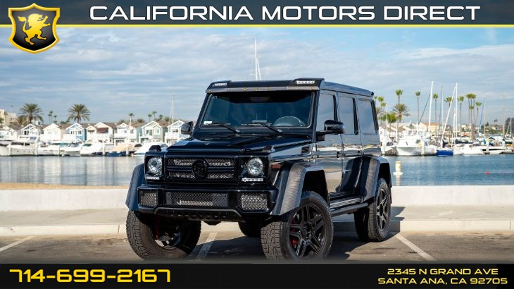 2017 Mercedes-Benz G 550 4x4 Squared Barbus Package (w/Barbus Grill & Power Step)