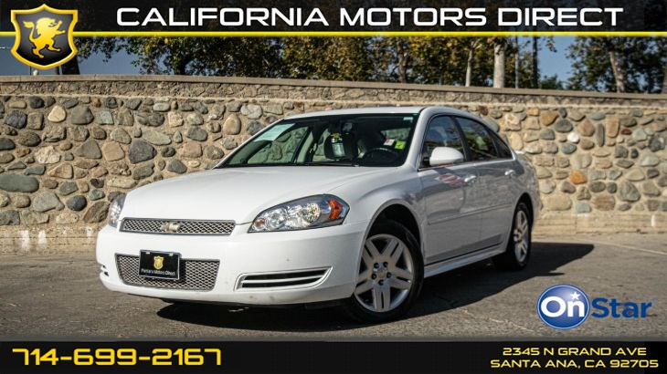 2012 Chevrolet Impala LT Fleet (LT Sunroof Package)