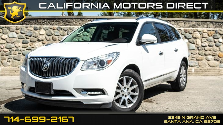 2017 Buick Enclave Leather (Bose Sound System & Moonroof)