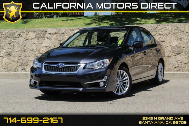 2016 Subaru Impreza Sedan Premium (Backup Camera + Sunroof)