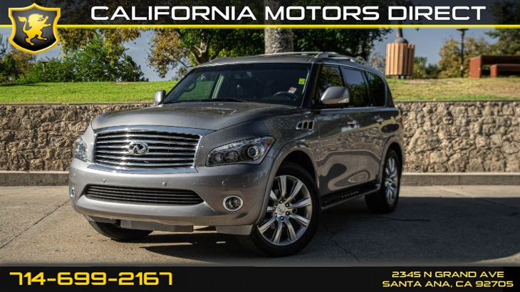 2014 INFINITI QX80 (Leather Seats + Navi)