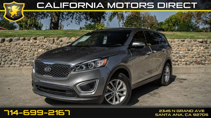 2018 Kia Sorento L (SiriusXm + Backup Camera)