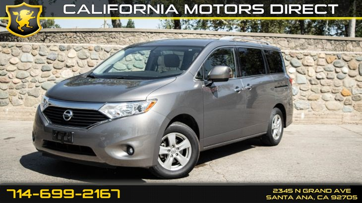 2017 Nissan Quest SV (Push to start)