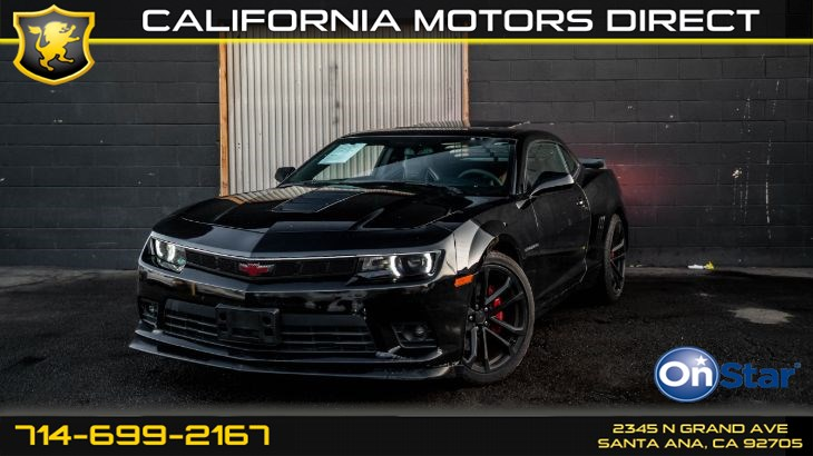 2014 Chevrolet Camaro SS (Performance Package)