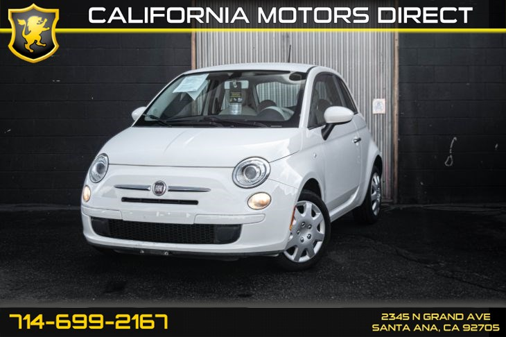 2013 FIAT 500 Pop (w/6 speed Auto Transmission)