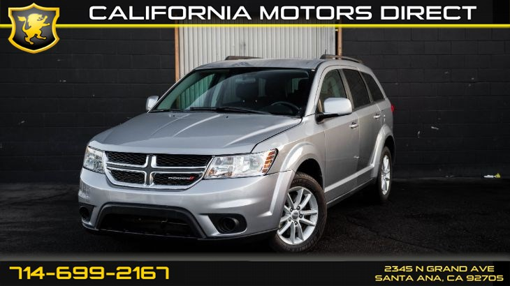 2015 Dodge Journey SXT (w/Flexible Seating Group)