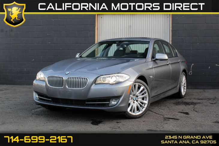 2011 BMW 5 Series 550i (Sport Package & Premium Package 2)