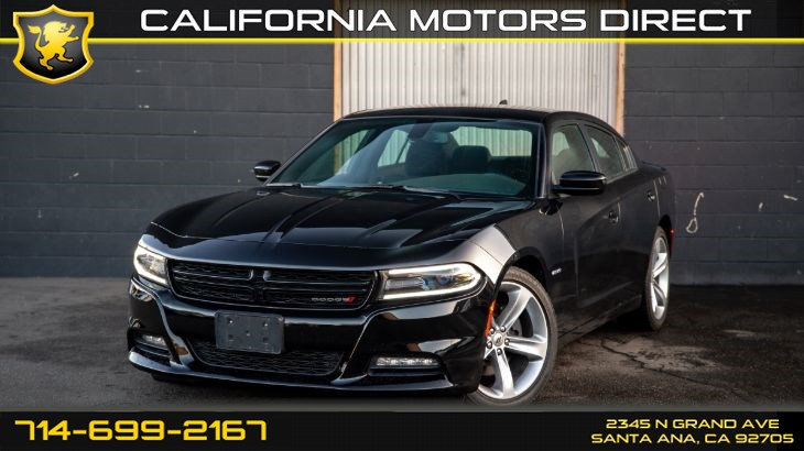 2018 Dodge Charger R/T (w/Back-Up Camera)