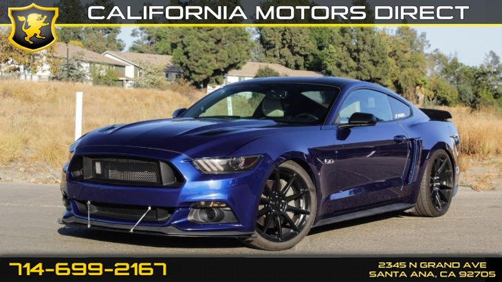 2015 Ford Mustang GT (Premium Package + Leather Seats)
