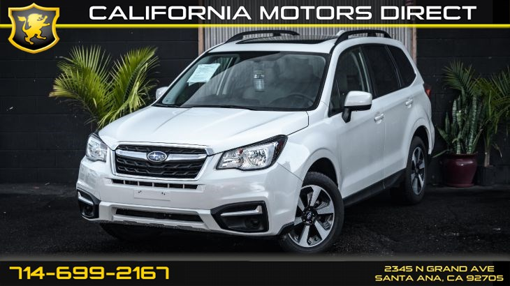 2018 Subaru Forester Premium (All Weather Package)
