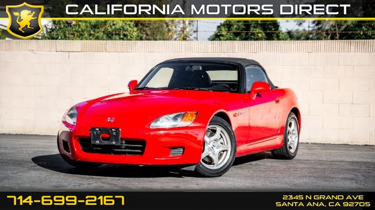 2002 Honda S2000 (Convertible Coupe + Leather Seats)