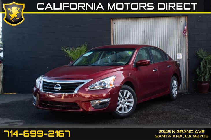 2015 Nissan Altima 2.5 S (Power Driver Seat Package)