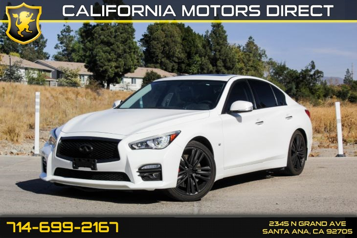 2015 INFINITI Q50 Sport (Leather Seats + Low Miles)