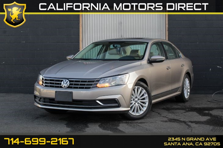 2016 Volkswagen Passat 1.8T SE PZEV (Backup Camera + Sunroof)