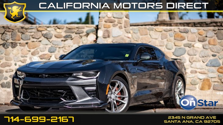 2017 Chevrolet Camaro 2SS (50TH ANNIVERSARY EDITION)