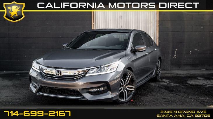 Sold 2017 Honda Accord Sport Back Up Camera Bluetooth In Santa Ana