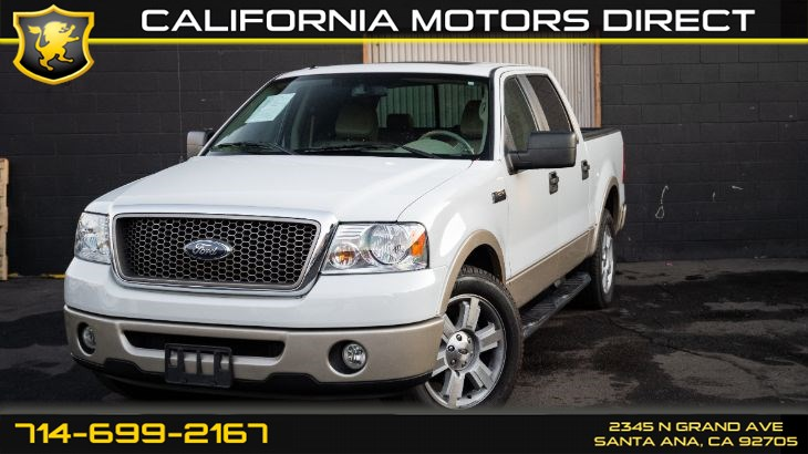 2007 Ford F-150 Lariat (w/Rear Seat Entertainment)
