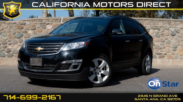 2017 Chevrolet Traverse LT (Style And Technology)