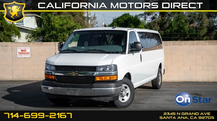 2017 Chevrolet Express Passenger LT (LT Preferred Equipment Package)