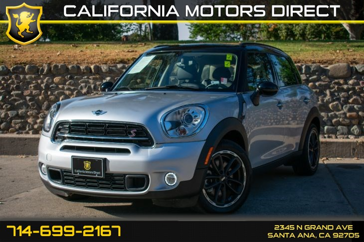 2016 MINI Cooper Countryman Cooper S (w/Keyless Entry/Media PKG)