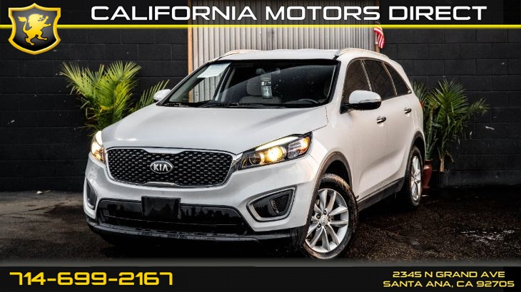 2016 Kia Sorento LX (3rd Row, Backup Camera)
