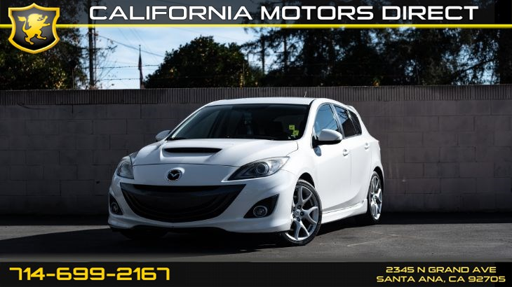 2012 Mazda Mazdaspeed3 Touring (Turbocharged + Navi)
