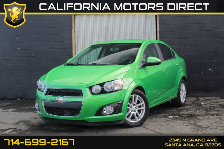 "2015 Chevrolet Sonic LT ""Dragon Green Package"""
