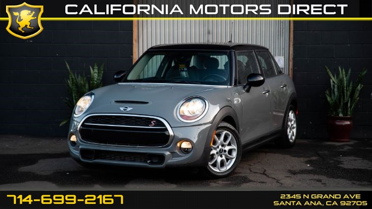 2016 MINI Cooper Hardtop 4 Door Cooper S (Sunroof / Moonroof +Turbo)