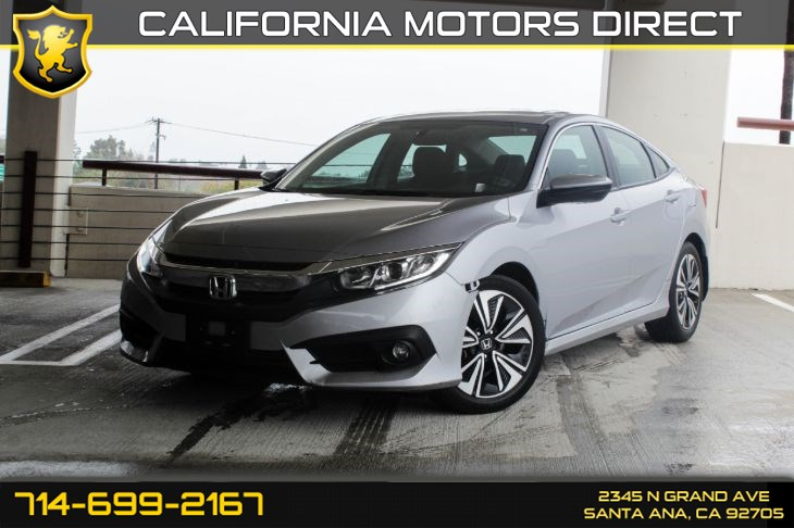 2016 Honda Civic EX-T (Sunroof & Bluetooth)