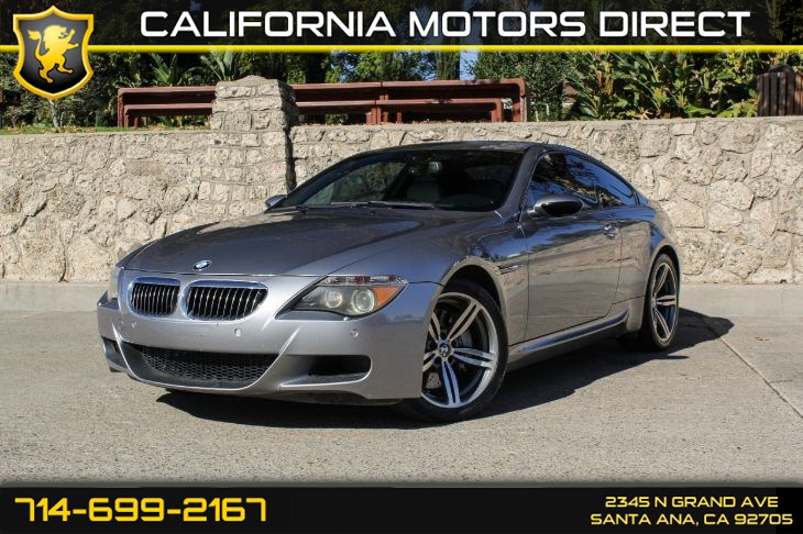 2007 BMW 6 Series M6 (w/Heads Up Display)