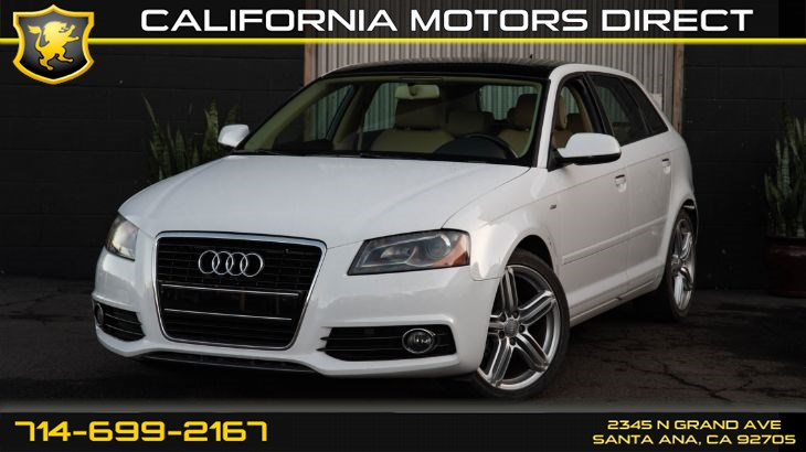 2011 Audi A3 2.0 TDI Premium Plus With (S-Line Package)
