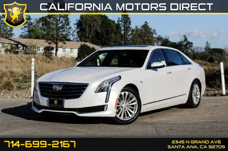 2017 Cadillac CT6 Luxury RWD (ENHANCED VISION AND COMFORT PACKAGE)