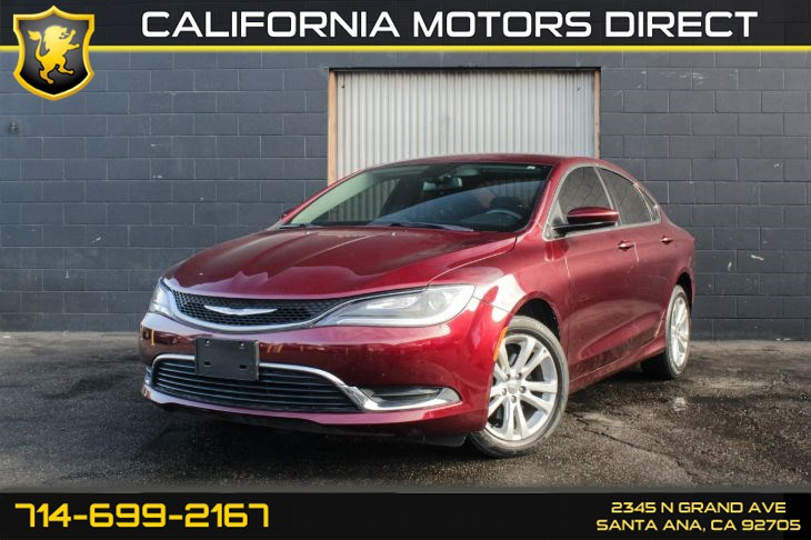 2015 Chrysler 200 Limited (w/CONVENIENCE GROUP)