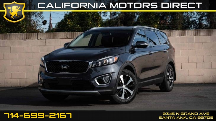 2016 Kia Sorento EX (Leather Seats + Backup Camera)