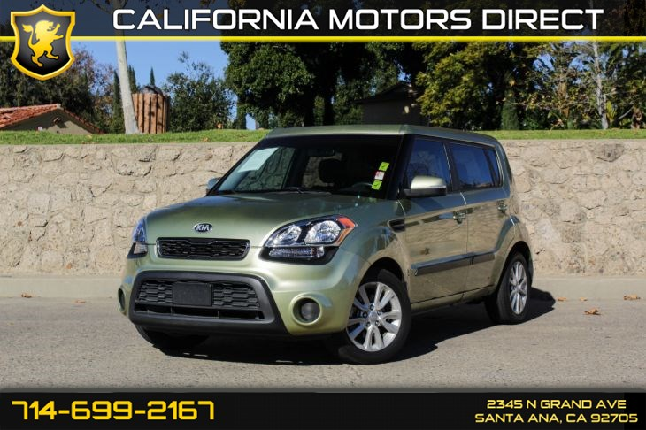 2013 Kia Soul (5 Door + Illuminated Door Sills)