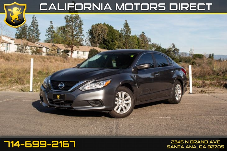 2016 Nissan Altima 2.5 S (w/POWER DRIVER SEAT PACKAGE)