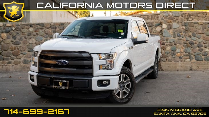 2015 Ford F-150 XLT (Backup Camera + Panoramic Sunroof)