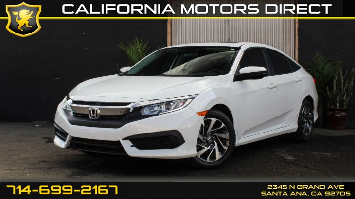 2016 Honda Civic Sedan EX (w/Back-Up Camera)